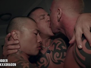 Darkroom Dragon: Damian Nightmarishness X-rated Ryan Transporter & Digger